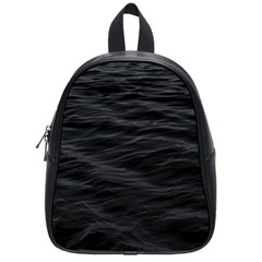 Dark Lake Ocean Pattern River Sea School Bags (small)