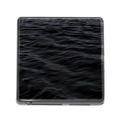 Dark Lake Ocean Pattern River Sea Memory Card Reader (square)