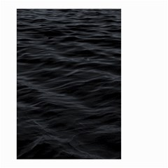 Dark Lake Ocean Pattern River Sea Small Garden Flag (two Sides)