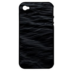 Dark Lake Ocean Pattern River Sea Apple iPhone 4/4S Hardshell Case (PC+Silicone)