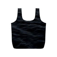 Dark Lake Ocean Pattern River Sea Full Print Recycle Bags (s)