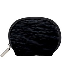 Dark Lake Ocean Pattern River Sea Accessory Pouches (small)