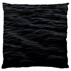 Dark Lake Ocean Pattern River Sea Large Flano Cushion Case (two Sides)