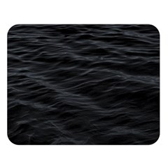 Dark Lake Ocean Pattern River Sea Double Sided Flano Blanket (Large)