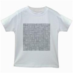 Flooring Household Pattern Kids White T-Shirts