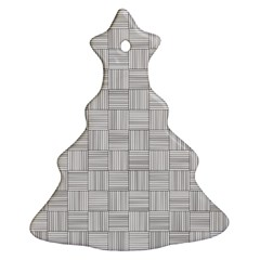 Flooring Household Pattern Christmas Tree Ornament (Two Sides)
