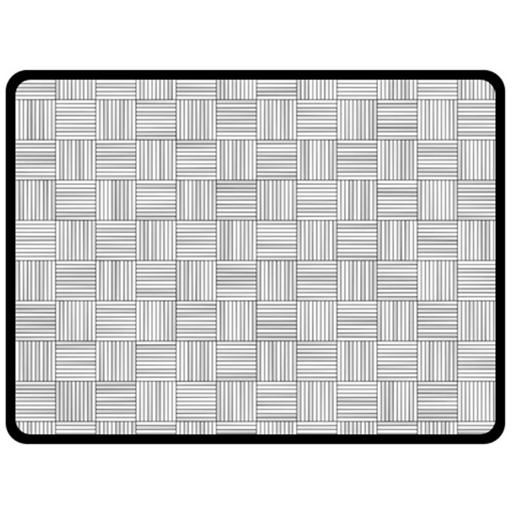 Flooring Household Pattern Double Sided Fleece Blanket (Large)