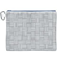Flooring Household Pattern Canvas Cosmetic Bag (XXXL)