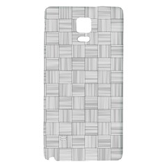Flooring Household Pattern Galaxy Note 4 Back Case