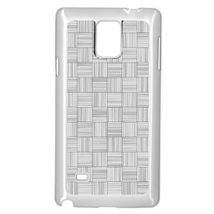 Flooring Household Pattern Samsung Galaxy Note 4 Case (White)
