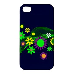 Flower Power Flowers Ornament Apple iPhone 4/4S Hardshell Case