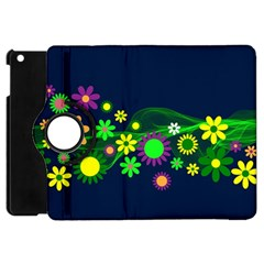 Flower Power Flowers Ornament Apple iPad Mini Flip 360 Case