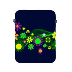 Flower Power Flowers Ornament Apple iPad 2/3/4 Protective Soft Cases
