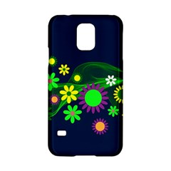 Flower Power Flowers Ornament Samsung Galaxy S5 Hardshell Case