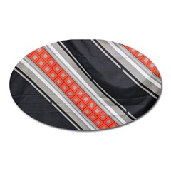 Bed Linen Microfibre Pattern Oval Magnet