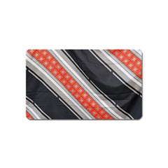 Bed Linen Microfibre Pattern Magnet (name Card)