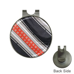 Bed Linen Microfibre Pattern Hat Clips with Golf Markers