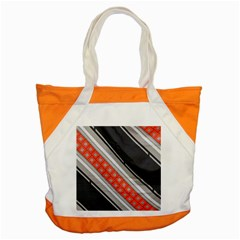 Bed Linen Microfibre Pattern Accent Tote Bag
