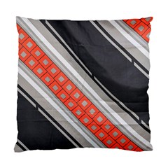Bed Linen Microfibre Pattern Standard Cushion Case (Two Sides)