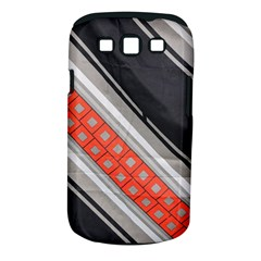 Bed Linen Microfibre Pattern Samsung Galaxy S III Classic Hardshell Case (PC+Silicone)