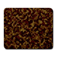 Camouflage Tarn Forest Texture Large Mousepads
