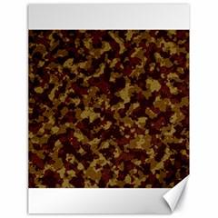 Camouflage Tarn Forest Texture Canvas 18  x 24