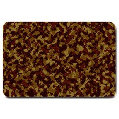 Camouflage Tarn Forest Texture Large Doormat