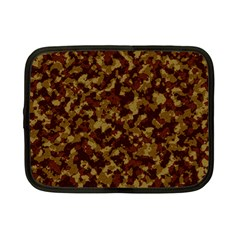 Camouflage Tarn Forest Texture Netbook Case (Small)
