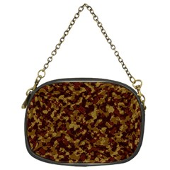 Camouflage Tarn Forest Texture Chain Purses (Two Sides)