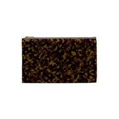 Camouflage Tarn Forest Texture Cosmetic Bag (small)