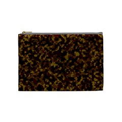 Camouflage Tarn Forest Texture Cosmetic Bag (Medium)