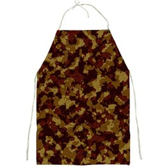 Camouflage Tarn Forest Texture Full Print Aprons