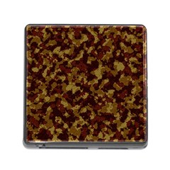 Camouflage Tarn Forest Texture Memory Card Reader (square)