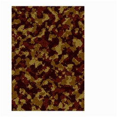 Camouflage Tarn Forest Texture Small Garden Flag (two Sides)