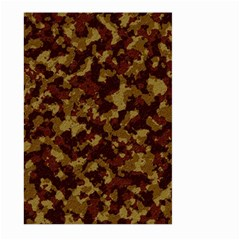 Camouflage Tarn Forest Texture Large Garden Flag (two Sides)