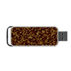 Camouflage Tarn Forest Texture Portable USB Flash (One Side)