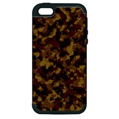 Camouflage Tarn Forest Texture Apple iPhone 5 Hardshell Case (PC+Silicone)