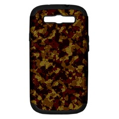 Camouflage Tarn Forest Texture Samsung Galaxy S Iii Hardshell Case (pc+silicone)