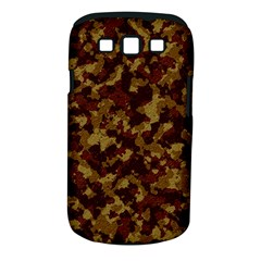 Camouflage Tarn Forest Texture Samsung Galaxy S III Classic Hardshell Case (PC+Silicone)