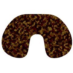 Camouflage Tarn Forest Texture Travel Neck Pillows