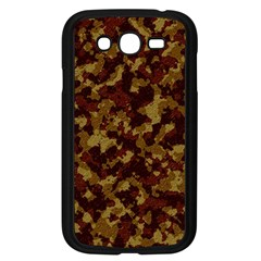 Camouflage Tarn Forest Texture Samsung Galaxy Grand DUOS I9082 Case (Black)