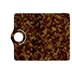 Camouflage Tarn Forest Texture Kindle Fire HDX 8.9  Flip 360 Case