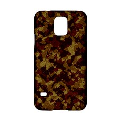 Camouflage Tarn Forest Texture Samsung Galaxy S5 Hardshell Case