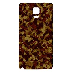 Camouflage Tarn Forest Texture Galaxy Note 4 Back Case