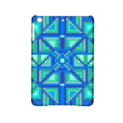 Grid Geometric Pattern Colorful Ipad Mini 2 Hardshell Cases