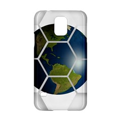 Hexagon Diamond Earth Globe Samsung Galaxy S5 Hardshell Case