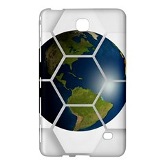 Hexagon Diamond Earth Globe Samsung Galaxy Tab 4 (8 ) Hardshell Case