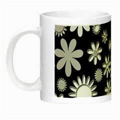Flower Power Flowers Ornament Night Luminous Mugs
