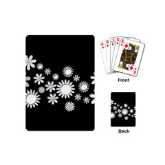 Flower Power Flowers Ornament Playing Cards (Mini)