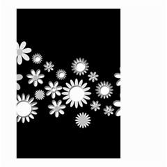 Flower Power Flowers Ornament Small Garden Flag (two Sides)
